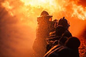 Tűzoltó gyakorlat VR használatával
